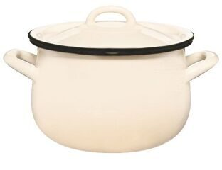 Bellied saucepan 4.8 l.