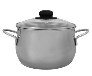 Spherical saucepan 2.8 l.