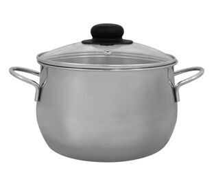 Spherical saucepan 7,0 l.